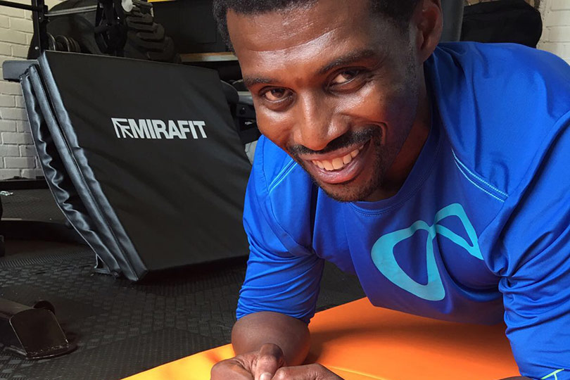 Steve Parke from Parkecore Personal Training using Mirafit equipment
