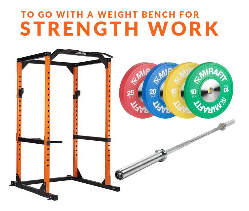 Weight Bench Strength Work
