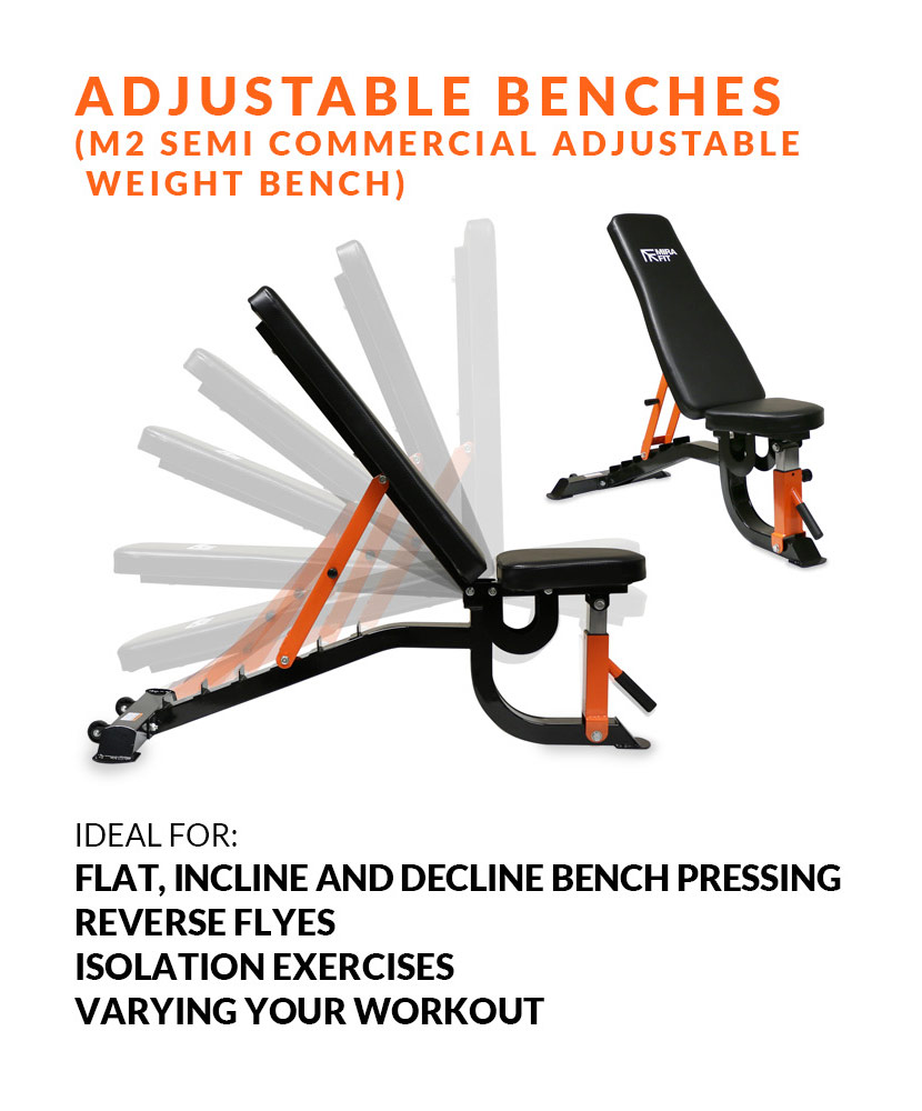Weight bench comparison - Adjustable benches