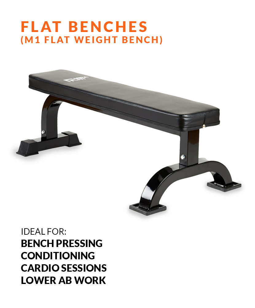 Weight bench comparison - Flat benches