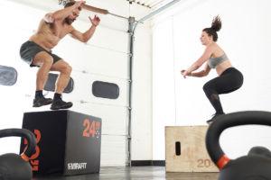 Best Leg Exercises Using A Plyo Jump Box