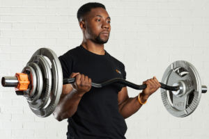 How to use an EZ curl bar